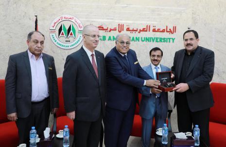 الاحتفال بانجاز المناهج الجديدة بحضور دولة رئيس الوزراء د. رامي الحمد لله