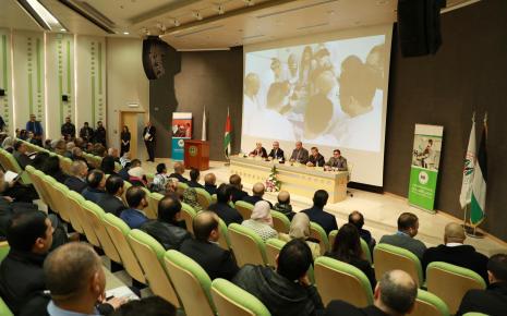افتتاح المركز الطبي في حرم الجامعة في رام الله