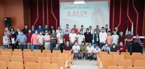 ملتقي خريجي الجامعة ينظم فعالية لتقديم التهنئة للجامعة على اعتماد تخصص الطب البشري