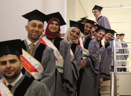 الفوج الثالث من طلبة ماجستير ادارة الاعمال MBA
