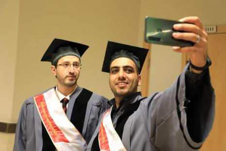 Graduation Ceremony for the 5th Patch of MBA Students