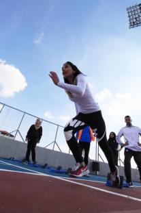 بطولة أالعاب القوى لطلبة قسم علوم الرياضة