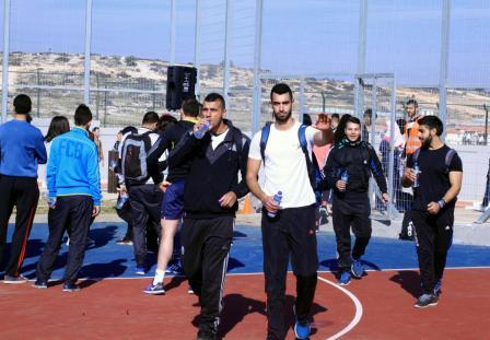 "Fifth International Palestine Marathon, Entitled ""Run for Freedom"""