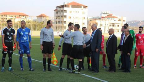 Hilal Al-Quds Won the Palestinian Super Finals at Arab American University International Stadium