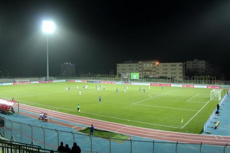 مباراة نادي هلال القدس مع نادي السويق العماني ضمن تصفيات كاس اسيا للأندية 2018