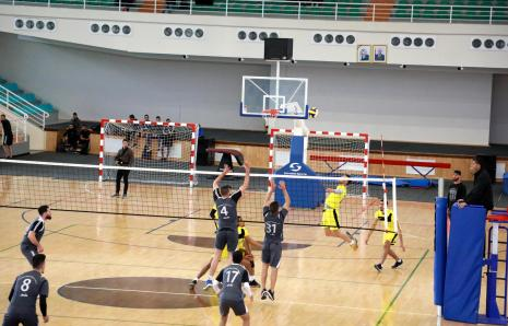 Photos of the Match That Gathered the University Team With Al-najah University Team of Volleyball League Championship for Palestinian Universities for the Year 2018