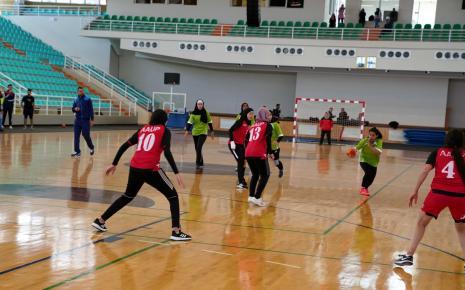 Female Handball Championship for Palestinian Universities