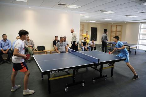 AAUP Hosts School Olympic Week Events