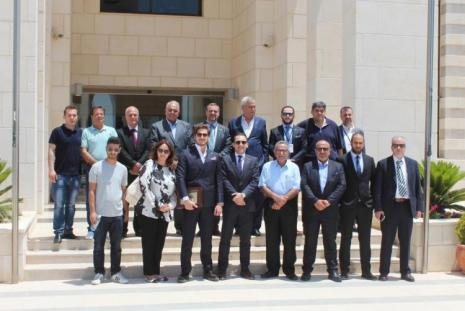 AAUJ President Hosts A Delegation of Turkish Businessmen