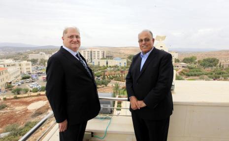 MR. SUHAIL AL-SABBAGH VISITS THE UNIVERSITY