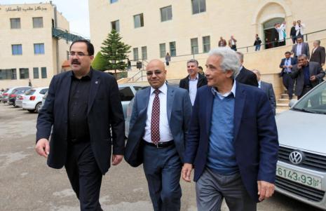 Minister of Higher Education Dr. Sabri Saydam Visits University