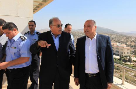 During the tour, deputy director general of police Brigadier General Jihad al-Masimi