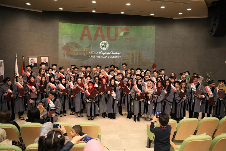 حفل تخريج طلبة برامج الماجستير للعام الأكاديمي 2018\2019