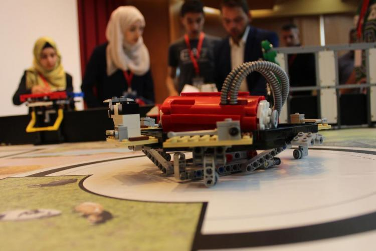 University Hosts the Educational Robot Contest