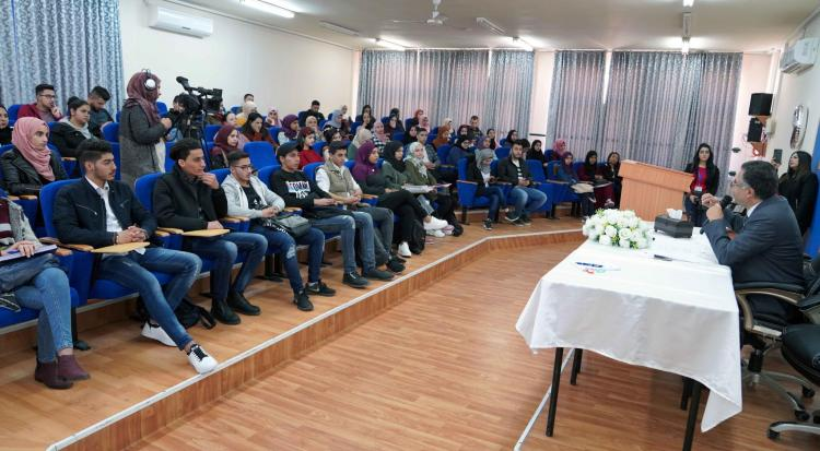 """The Anniversary of the Poet Darwish, the university organizes an open culture day entitled """"Almond Blossoms and Beyond"""""""