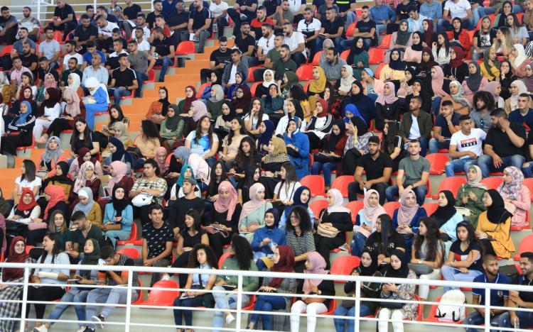 فعاليات اليوم الارشادي للطلبة الجدد 2019\2020