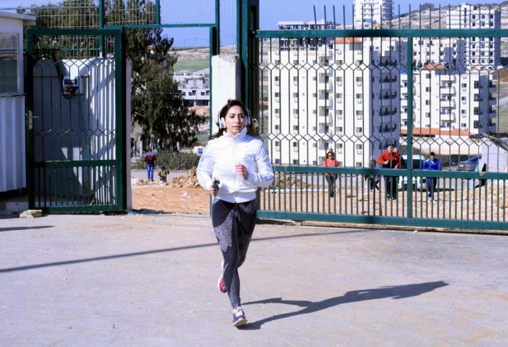 "Fifth International Palestine Marathon, Entitled ""Run for Freedom"""