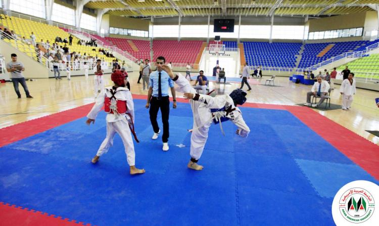 Pictures from the Third Korean Ambassador Taekwondo Championship Hosted at the Arab American University and Organized Under the Auspices of Palestinian Olympic Committee and Supervision of Palestinian Taekwondo Federation