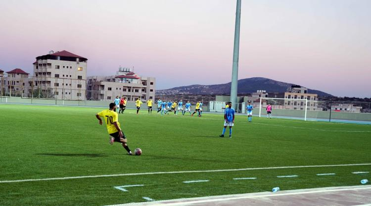 The University Hosts the Second Week of First Degree League in Football