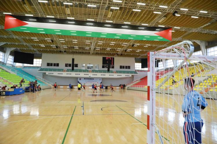 The Opening of the Palestinian Handball League