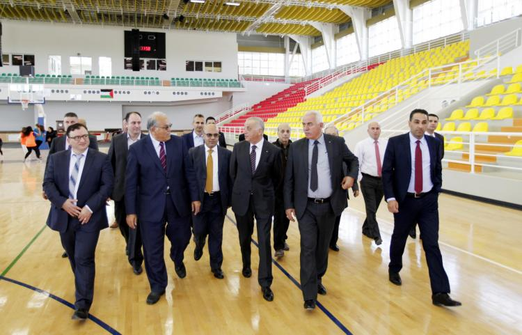 رئيس مجلس القضاء الأعلى المستشار سعد يزور الجامعة