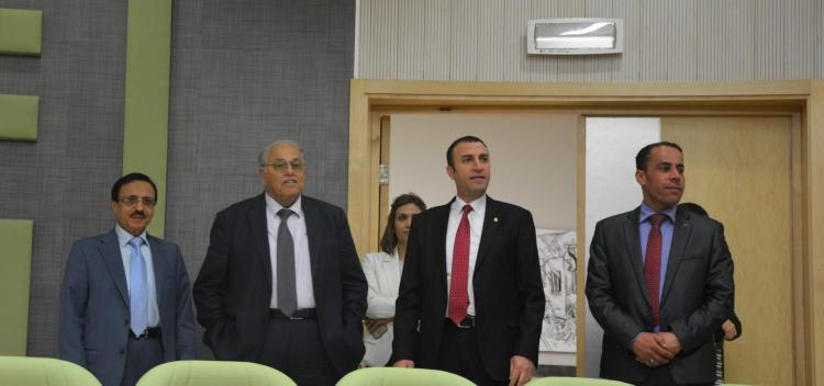 Venezuelan Ambassador to the State of Palestine Visits the University in Ramallah