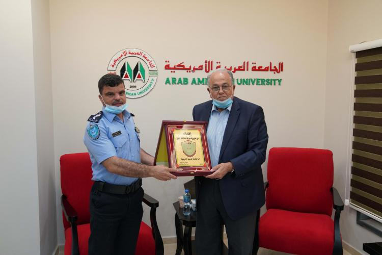 Police Chief of Jenin Visits AAUP