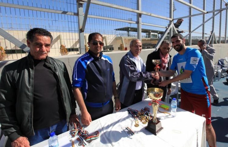 University Organizes Five-a-side Football Championship for Palestinian Universities Staffs