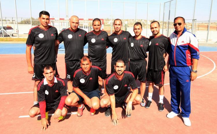 بطولة كرة القدم الخماسي لموظفي الجامعات الفلسطينية
