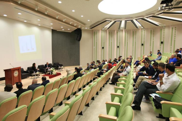 Sports Improving Workshop Hosted by University in its Graduate Studies Building, Ramallah