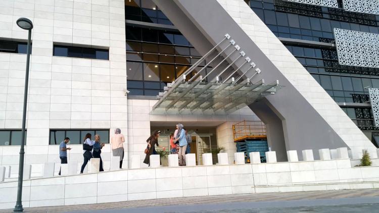 Graduate Studies Building in Ramallah