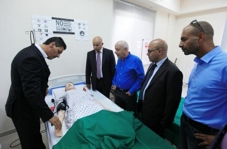 President of Arabic Democratic Party MP Talab Al-Sane' Visit for University