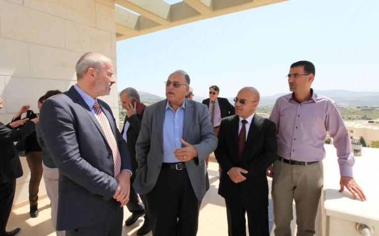 زيارة القنصل البلجيكي العام السيد برونو يانس
