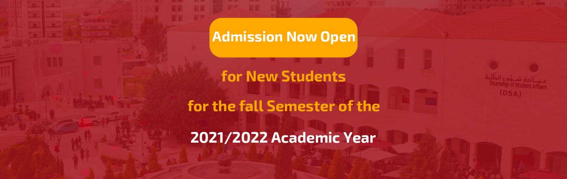 Announcement - Admission Applications are now being Accepted to the Bachelor's Degree and Intermedia