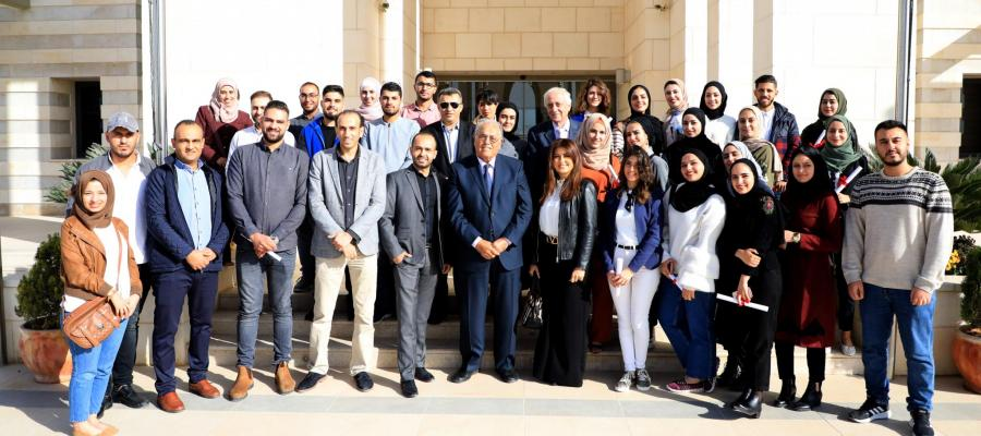 The conclusion of the TV broadcasting training