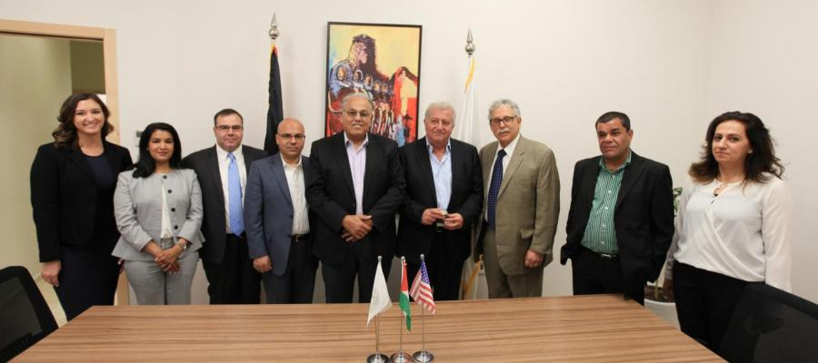 Arab American University and the University of Michigan, USA signing MoU